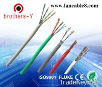 Sell lan cables/ethernet cables cat5e/cat6 fast moving