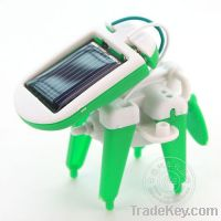 Sell solar toy educational toy 6 in 1 novelty items for children