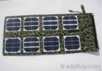 Sell 24w Portable laptop solar charger/Foldable laptop solar charger