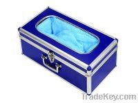 Sell Dark Blue Aluminium Alloy Shoe Cover Machine