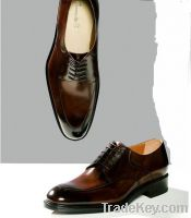 handmade high quality Oxfords genuine leather men shoes