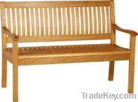 wooden bench outdoor furniture/ garden furniture