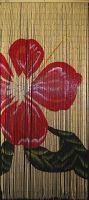 bamboo curtain door