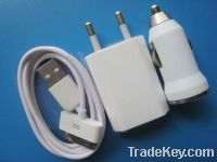 iPhone/iPod 3in1 charger kit(European Standard)