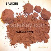 Bauxite ore, alumina Al2O3