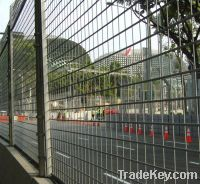 wire mesh fence installation