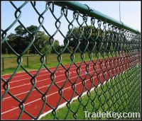 woven wire mesh fence