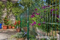 wire mesh garden fence