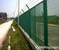 PE expanded metal fence