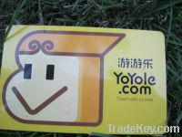 Cusom gift card for VIP