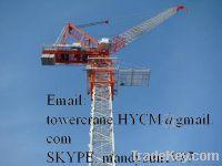 Sell New China QTD4522 Self-erecting Luffing Jib Tower Crane