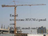 Sell New China QTZ6518 Self-erecting Topkit Tower Crane