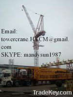 Sell  New China Luffing Tower Crane, 45m, 2.2t