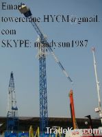 Sell New China QTP6040 Self-erecting Topless Tower Crane