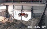 Sell Grab crane for slag, coal, mineral, sand