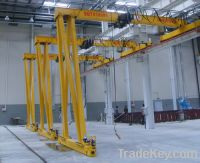 Sell Rail Single Beam Semi Gantry Crane