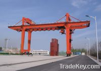 Sell U type double girder beam container gantry crane with hanger