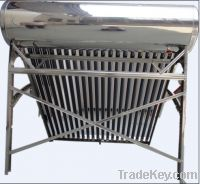 Sell Passive Unpressureized Stainless Steel Solar Water Heater JX-2