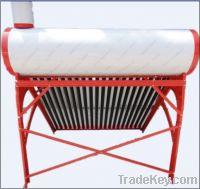 Sell Non-pressure Solar Water Heater Galvanized Steel