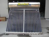 Sell Non-Pressure Solar Water Heater Stainless Steel
