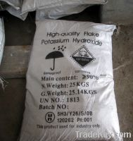 Sell Potassium hydroxide flakes 90% 95% koh