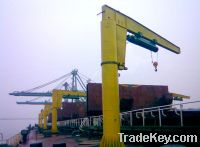 Sell BX type manually rotating wall jib crane