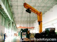 Sell BXD type electric rotary wall jib crane