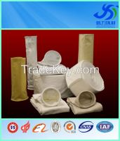 factory direct sale Polyester bag filter/PE nonwoven pocket filter bag dust filter bag for industrial dust collector