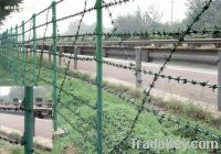 Sell High quality low carbon Barbed wire mesh
