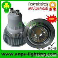 Sell CE&ROHS COB LED High Power led gu10 5w spotlight