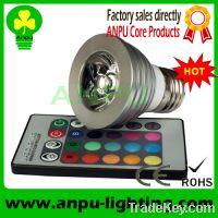 Sell CE&ROHS 3W LED High Power RGB spotlight led