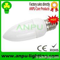 Sell E12 LED candel shape lamp