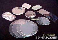 Sell  ultrathin quartz glass plate  Thickness 0.05mm