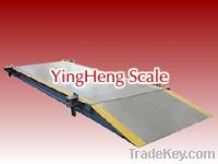 Sell export China Movable electronic truck scale from YingHeng Scale