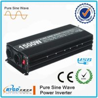 Off-grid solar inverter with pure sine wave from 300w-3000w 12v dc to 220v ac