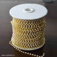 Cup chain with crystal