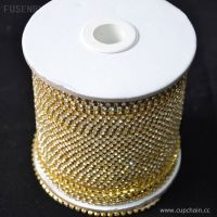 Cup chain with strass