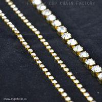 Jewellery chain with strass, cup-Kette, fincan zinciri, Cup ketju