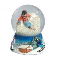 Customize resin snow globe