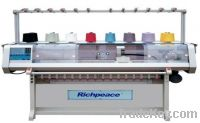 Automatic Flat Knitting Machine for Collar & Bottom
