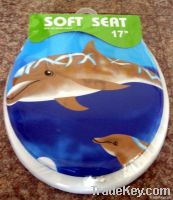 Printed Soft Toilet Seat with Lid - Standard