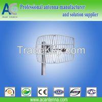 5.8GHz parabolic grid antenna