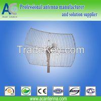 2.4GHz parabolic grid antenna