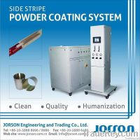 Side Stripe Powder Coating System