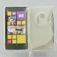S-line&high quality TPU Case Gel soft Skin Casefor Nokia Lumia 1020