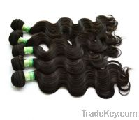 Sell Indian remy human hair weaving/weft