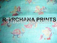 Sell Printed Dupion Fabric