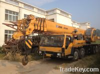 Sell used XCMG crane 65 ton, QY65K