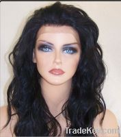 Sell good quality indian full lace wigs