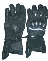 Sell Sports Motorbike Leather Gloves